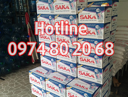 Đại lý nước Saka tại quận Tân Bình