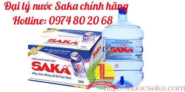 Đại lý nước Saka tại quận Gò Vấp