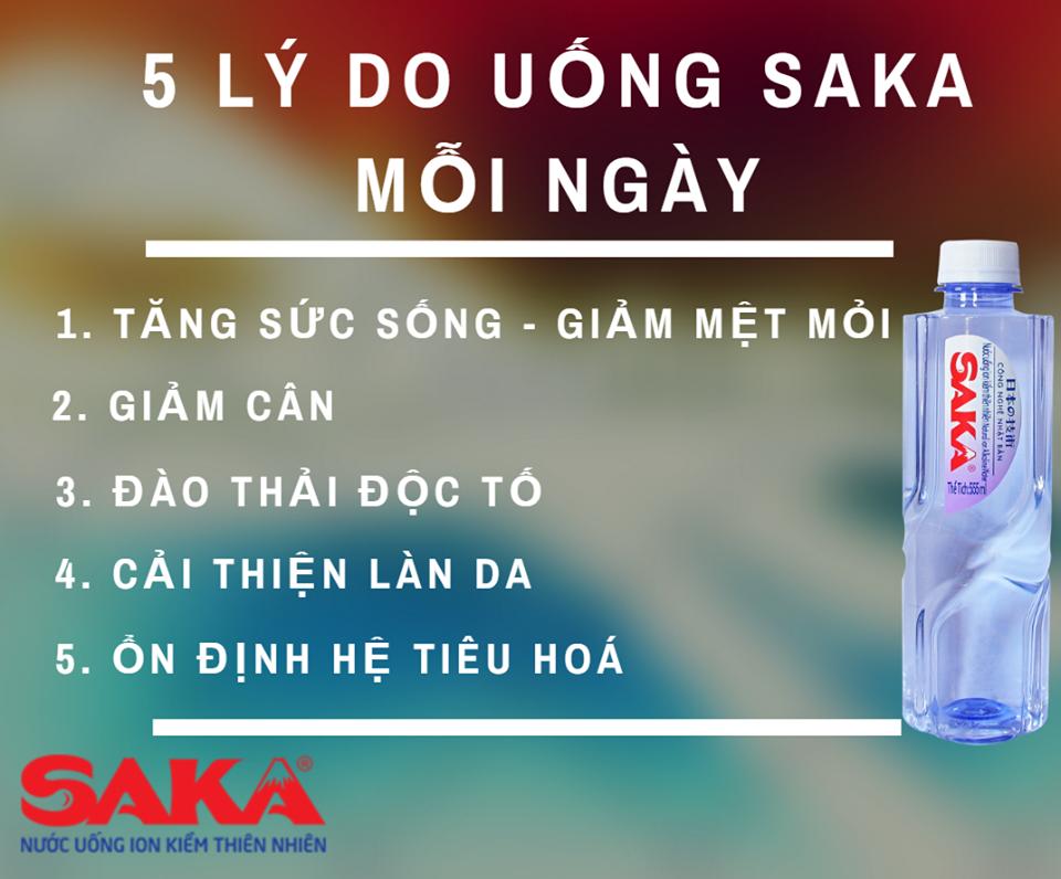 uống nước Saka